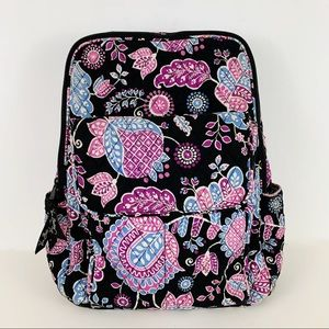 Vera Bradley Alpine Floral Backpack Bookbag Purse